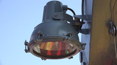 Ship spotlight. 4K Live Action