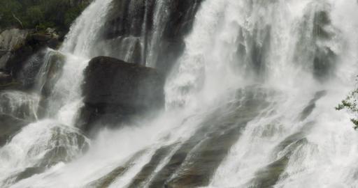 4K, Huge Waterfall, Norway Footage