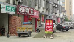 Jintang Town Chengdu Area Sichuan China 34 street  Footage