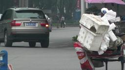 Jintang Town Chengdu Area Sichuan China 18 street Stock Video Footage