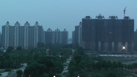 Jintang Town Chengdu Area Sichuan China 4 getting  Footage