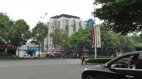 Jintang Town Chengdu Area Sichuan China 2 street h Footage