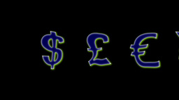 FLOATING MONEY SIGNS Animation