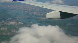 Flying over the city Stock Video Footage