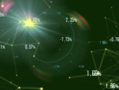 Economy 5 Plexus 4k stock footage