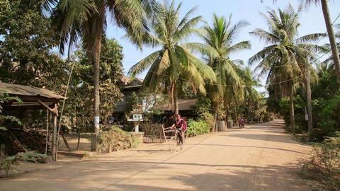 SILK ISLAND, CAMBODIA - MARCH 2014: tranquil villa Footage