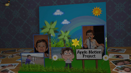 3 D Children Photo Book Apple-Motion-Projekt