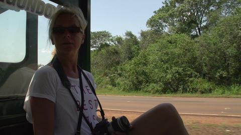 007 Trainride to the waterfalls of Foz do Iguacu , Footage