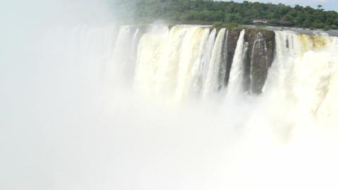 022 Iguazu waterfalls , viewed from Argentina , De Stock Video Footage