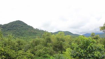 Sierra Leone Afrika Mountain Footage