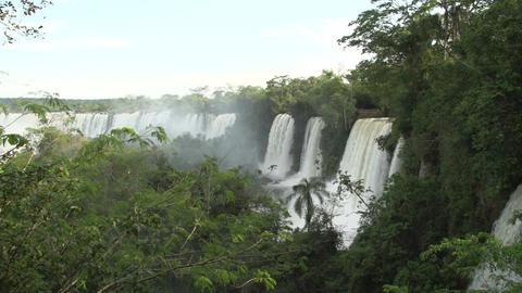 043 Iguazu waterfalls , Argentina , slowmotion Footage