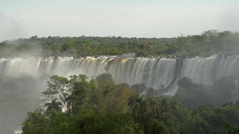 046 Iguazu waterfalls , Argentina Stock Video Footage