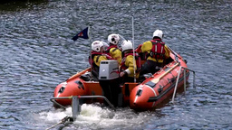 Rescue Lifeboat 3 Stock Video Footage