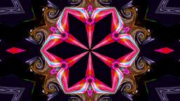 Psychedelic Kaleidoscope 5 stock footage