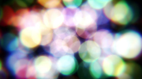 Bokeh Particle 5 Stock Video Footage