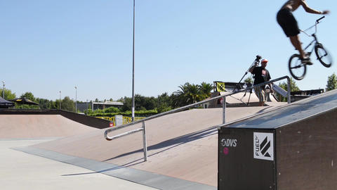 Trainings during the DVS BMX Series 2014 by Fuel T Footage