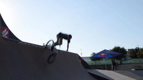 Cedric Maximo during the DVS BMX Series 2014 by Fu Footage