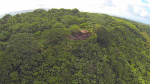 aerial of guanshan and kenting skyline high in the Footage