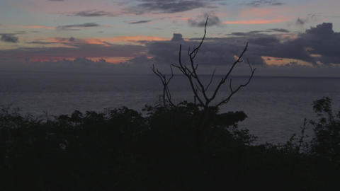 post sunset guanshan 2 Stock Video Footage