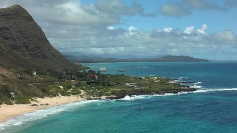 kaupo beach on ohau island , hawaii Footage