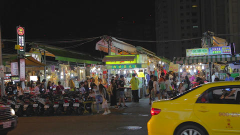 Ruifeng night market - exterior wide Live Action