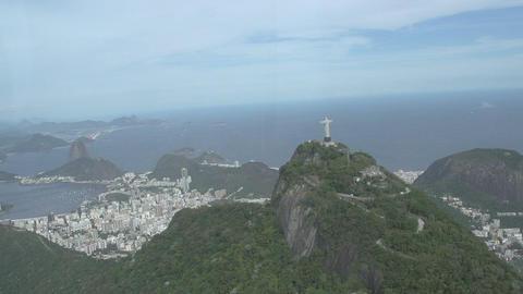 015 Rio , Helicopter flight , Aerial , Rio City , Stock Video Footage