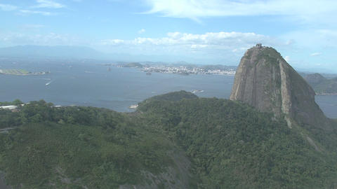 021 Rio , Helicopter flight above Rio , aerial , S Footage