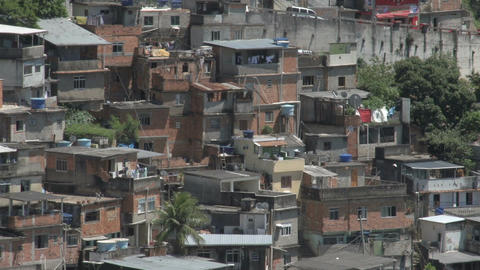 040 Rio , Overview city , Favela Footage