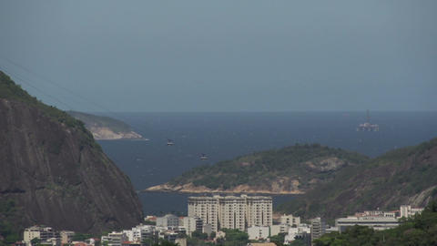 070 Rio , Coastline , Sugarleaf Mountain Footage