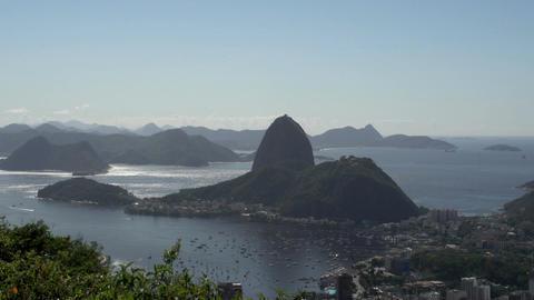 081 Rio , Coastline , Rodrigo de Freitas lake Footage
