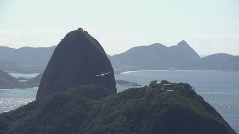 083 Rio , Sugarleaf Mountain , airoplane passing b Footage