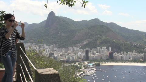 093 Rio , overview from above the Sugarleaf Mounta Footage
