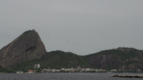 0107 Rio , Sea , Sugarleaf Mountain , cableway , t Footage