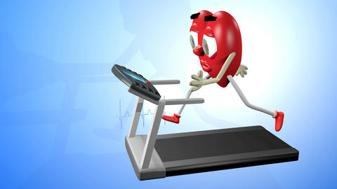 Cardio workout Animation