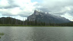 HD2008-6-6-56 Banff mt rundle Stock Video Footage