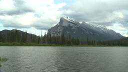 HD2008-6-6-56 Banff mt rundle Footage