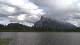 HD2008-6-6-58 Banff mt rundle Stock Video Footage