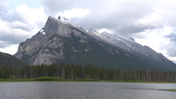 HD2008-6-6-60 Banff mt rundle Stock Video Footage