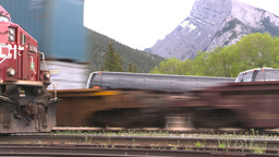 HD2008-6-6-66 intermodal train Footage