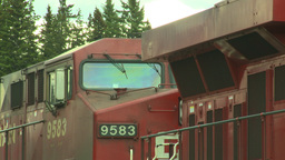 HD2008-6-6-68 deisel loco Stock Video Footage