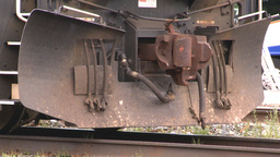 HD2008-6-6-70 deisel loco Stock Video Footage