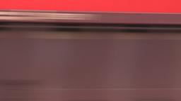 HD2008-6-7-3 Interodal train Banff fast Stock Video Footage