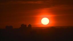 HD2008-6-8-2 TL setting sun Stock Video Footage