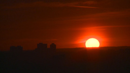 HD2008-6-8-2 TL setting sun Stock Video Footage