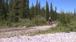 HD2008-6-9-7 mtn bike Stock Video Footage