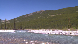 HD2008-6-9-21 mountain stream Stock Video Footage