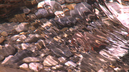HD2008-6-9-35 tiny mountain stream reflections Stock Video Footage