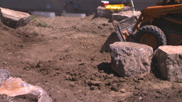HD2008-6-9-43 bobcat tractor Stock Video Footage