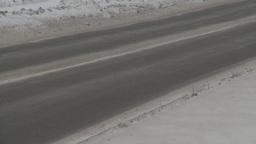HD2008-3-1-26 winter traffic Stock Video Footage