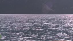 HD2008-10-1-7 lake boat ride Stock Video Footage